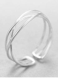 Simple Fashion Silver Ring -