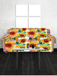 Sunflower Pattern Couch Cover -