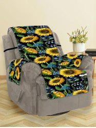 Sunflower Leaf Pattern Couch Cover -