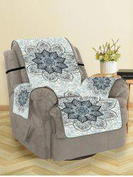 Mandala Flower Pattern Couch Cover -
