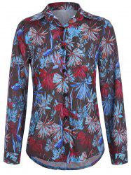 Casual Floral Printed Shirt -