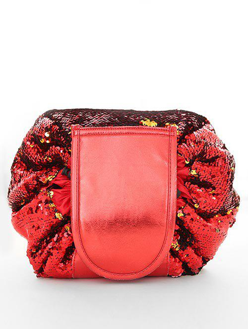 Outfits Chic Sequins Decoration Cosmetic Bag