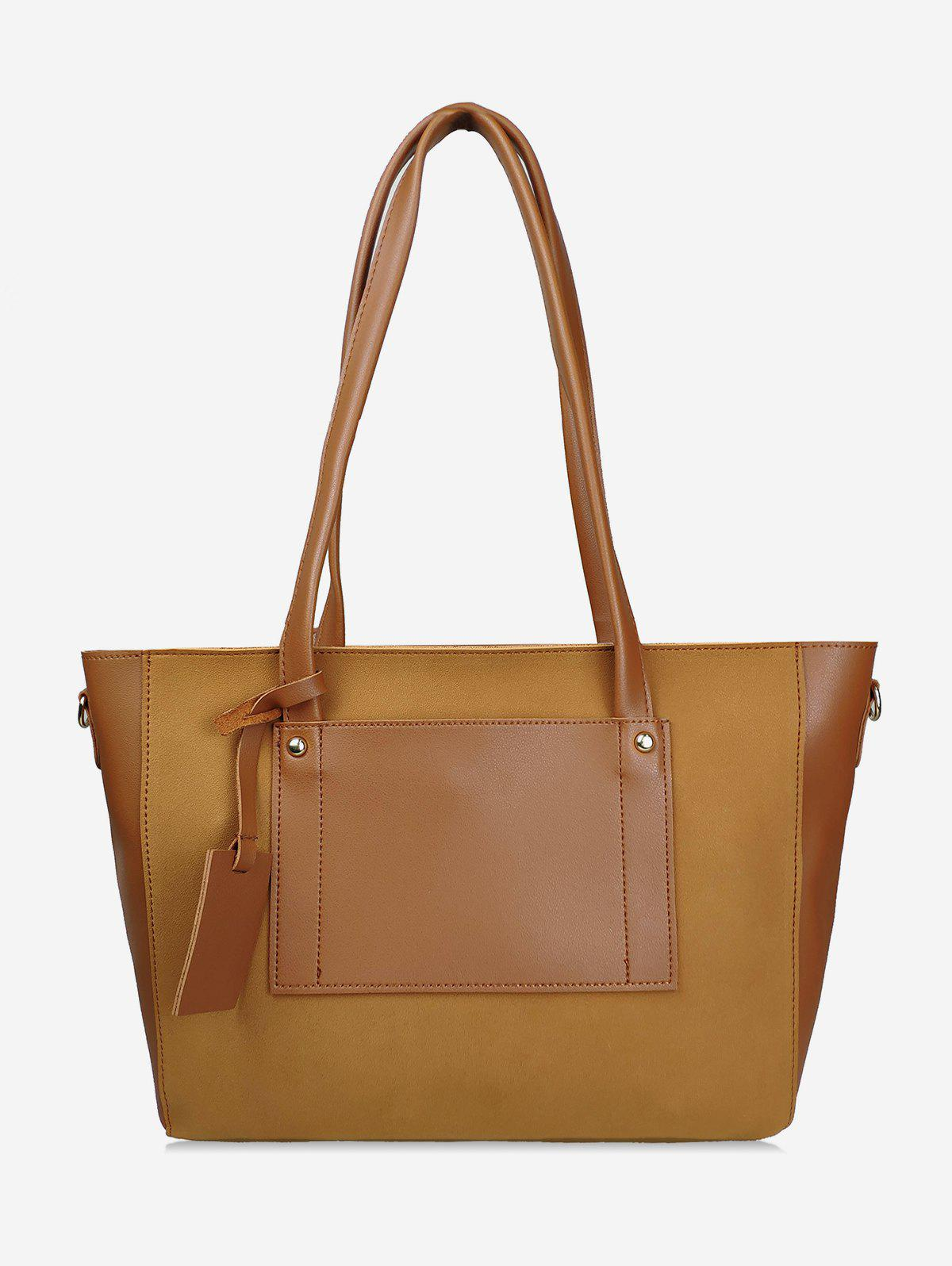 Latest Simple Style Joint Shoulder Bag