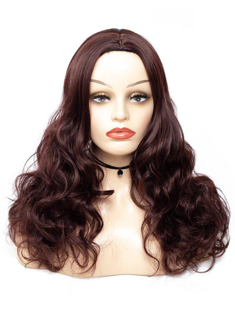 Best Center Parting Wavy Long Synthetic Wig