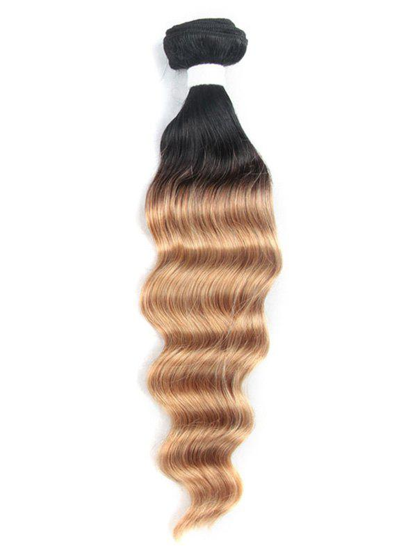 Outfits 1Pc Ombre Deep Wave Brazilian Virgin Human Hair Weave