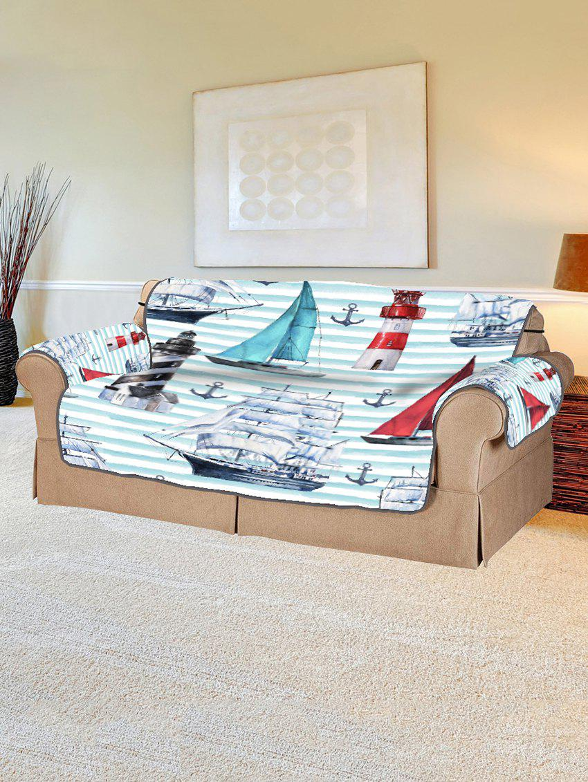 Shop Anchor Boat Pattern Couch Cover