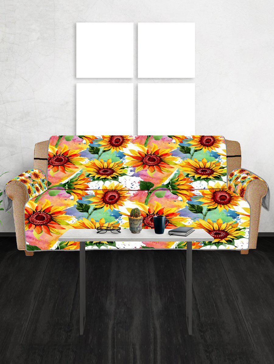 Outfits Sunflower Pattern Couch Cover