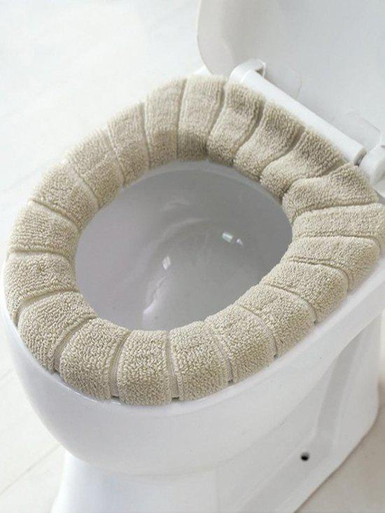 Affordable Stretch Fluffy Toilet Seat Cover