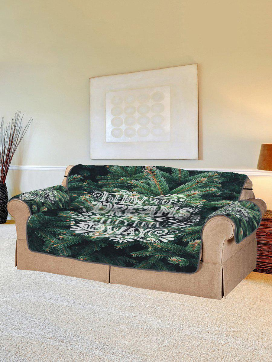 Affordable Pine Pattern Couch Cover