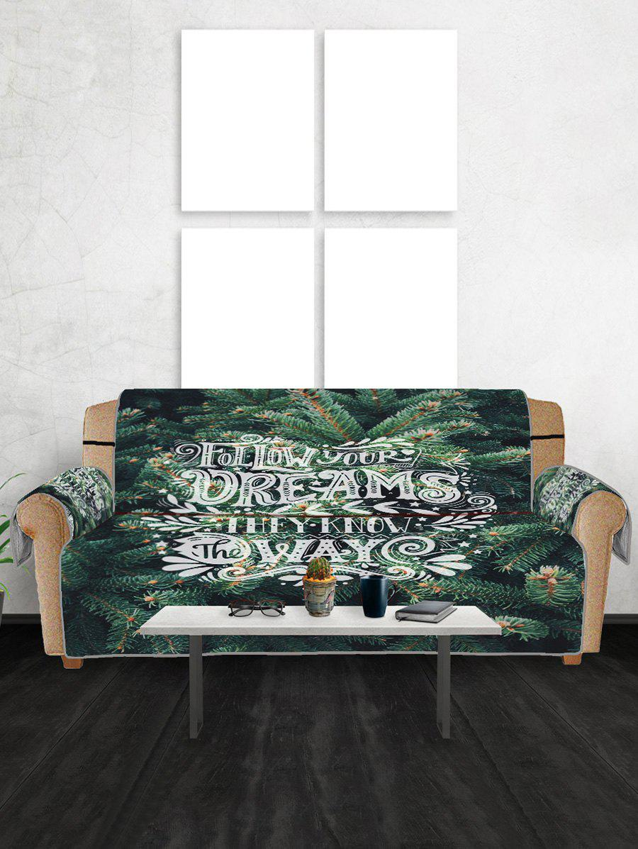 New Pine Pattern Couch Cover