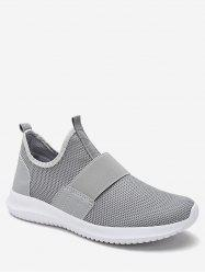 Elastic Band Mesh Athletic Sneakers -