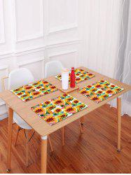 Sunflowers Pattern Table Placemat -