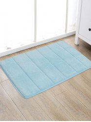 Solid Color Water Absorption Area Rug -