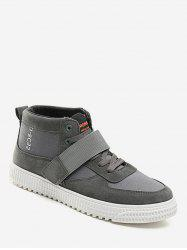 High Top Hook Strap Casual Sneakers -