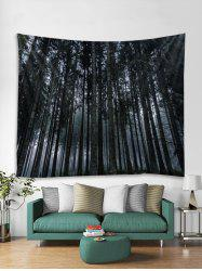 Wall Art Forest Print Hanging Tapestry -