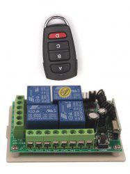 Universal Wireless Remote Switch Control and 4 Channel Relay Receiver Module -