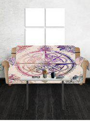 Compass Star Pattern Couch Cover -