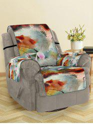 Lotus Pattern Couch Cover -