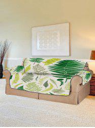 Plant Leaf Pattern Couch Cover -