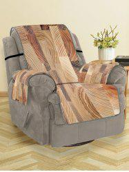 Wood Grain Pattern Couch Cover -