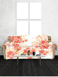 Sakura Flower Pattern Couch Cover -
