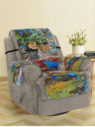 Oil Paint Pattern Couch Cover -