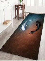 Fish Print Decorative Floor Mat -