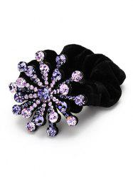 Floral Decoration Rhinestone Hairband -