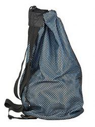 Sport Drawstring Basketball Mesh Bag Backpack -