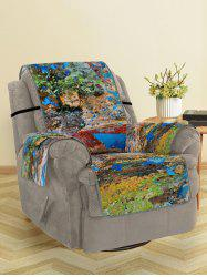 Retro Pattern Couch Cover -