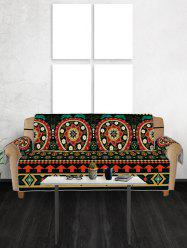 Bohemian Mandala Flower Pattern Couch Cover -