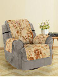 Vintage Flower Print Couch Cover -