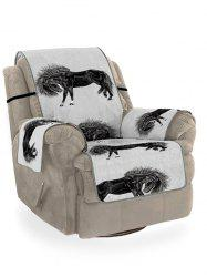 Horse Printed Couch Cover -