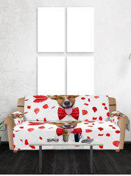 Dog Design Couch Cover -