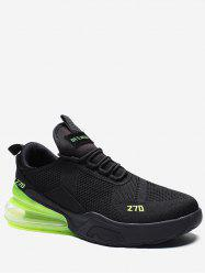 Color Block Knitted Running Sneakers -