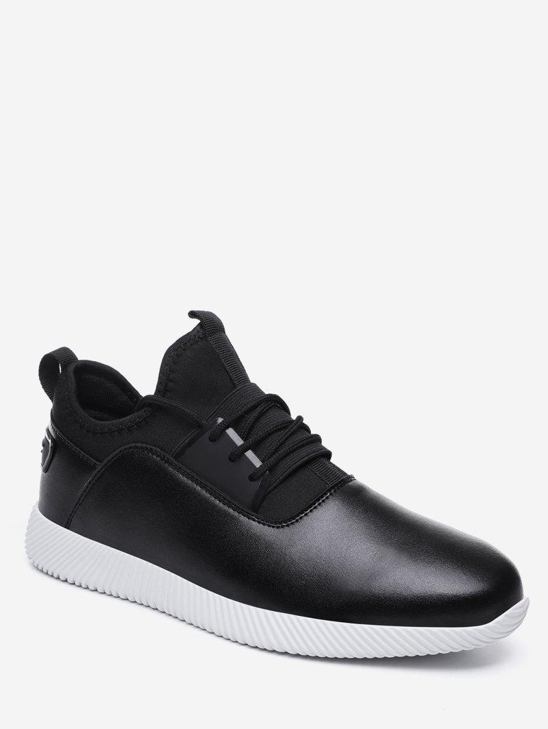Unique Lace Up Lightweight Athletic Sneakers