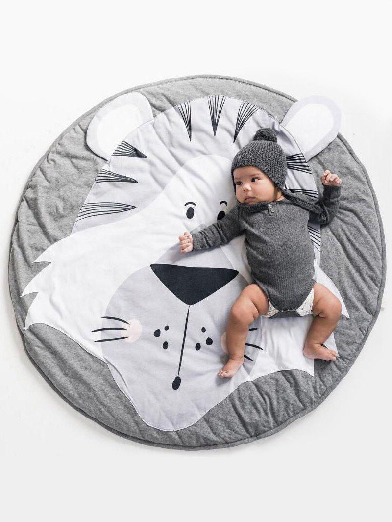 Sale Animals Pattern Soft Crawling Mat Baby Game Mat
