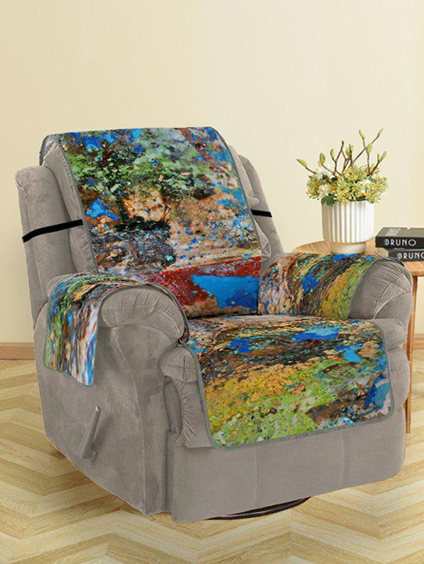 Outfit Oil Paint Pattern Couch Cover