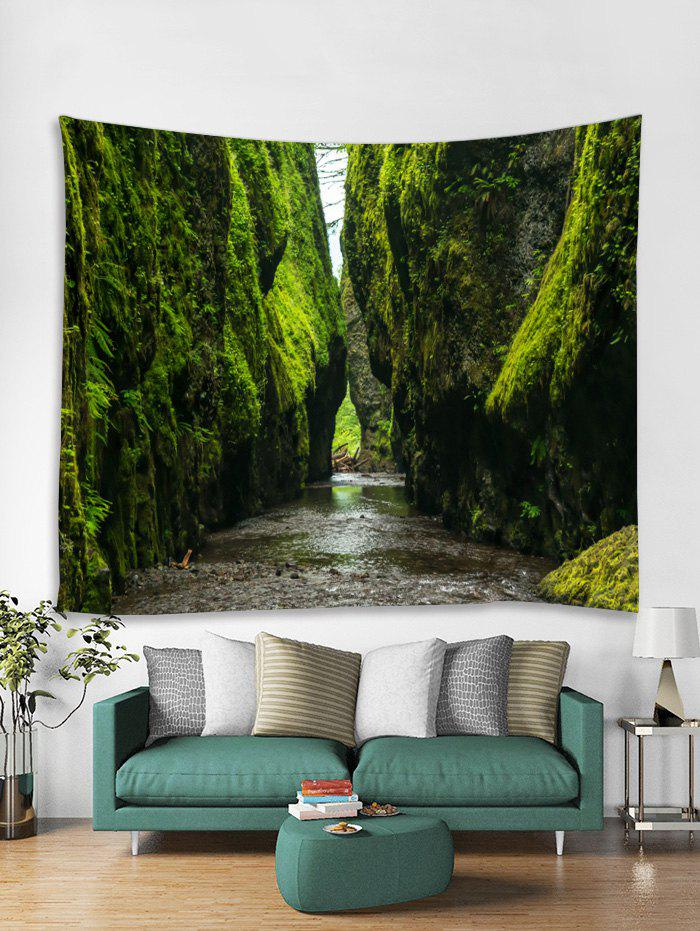Chic Mountains Scenery Print Tapestry Wall Art