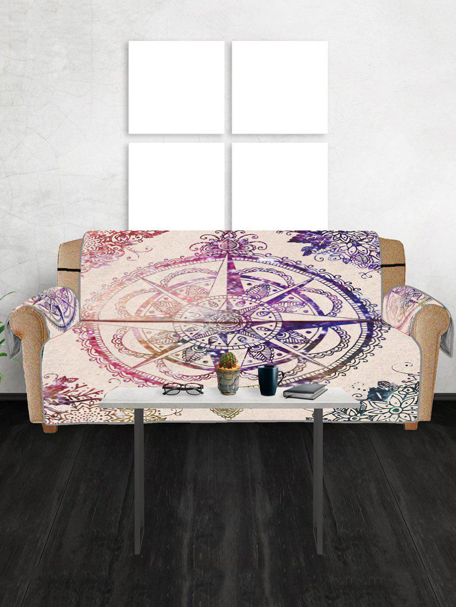 Shop Compass Star Pattern Couch Cover