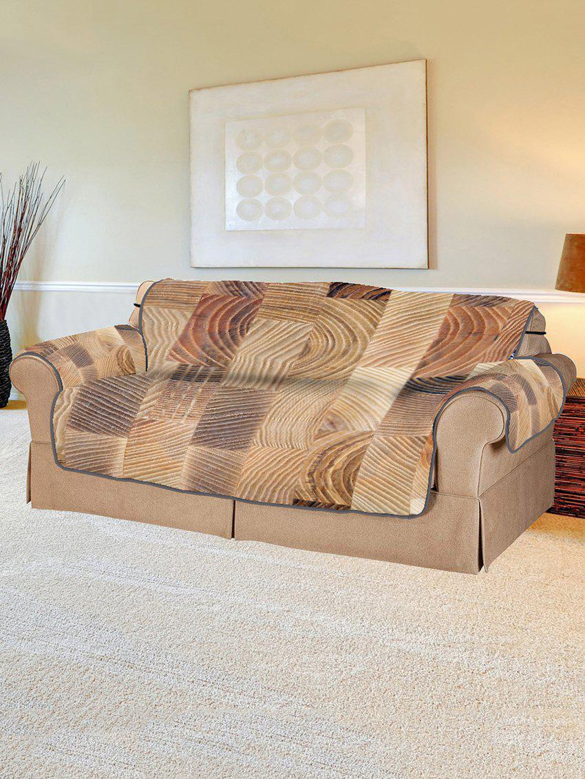 Fashion Wood Grain Pattern Couch Cover