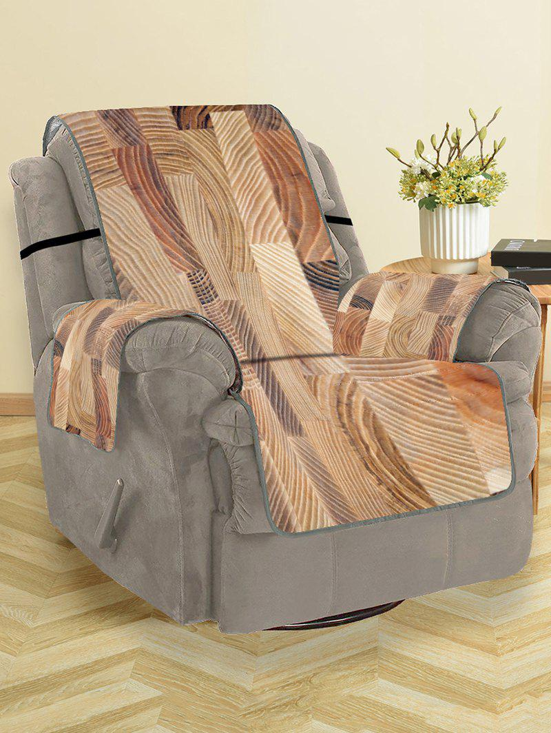 Store Wood Grain Pattern Couch Cover