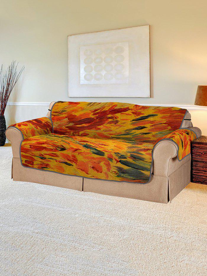 Trendy Abstract Pattern Couch Cover