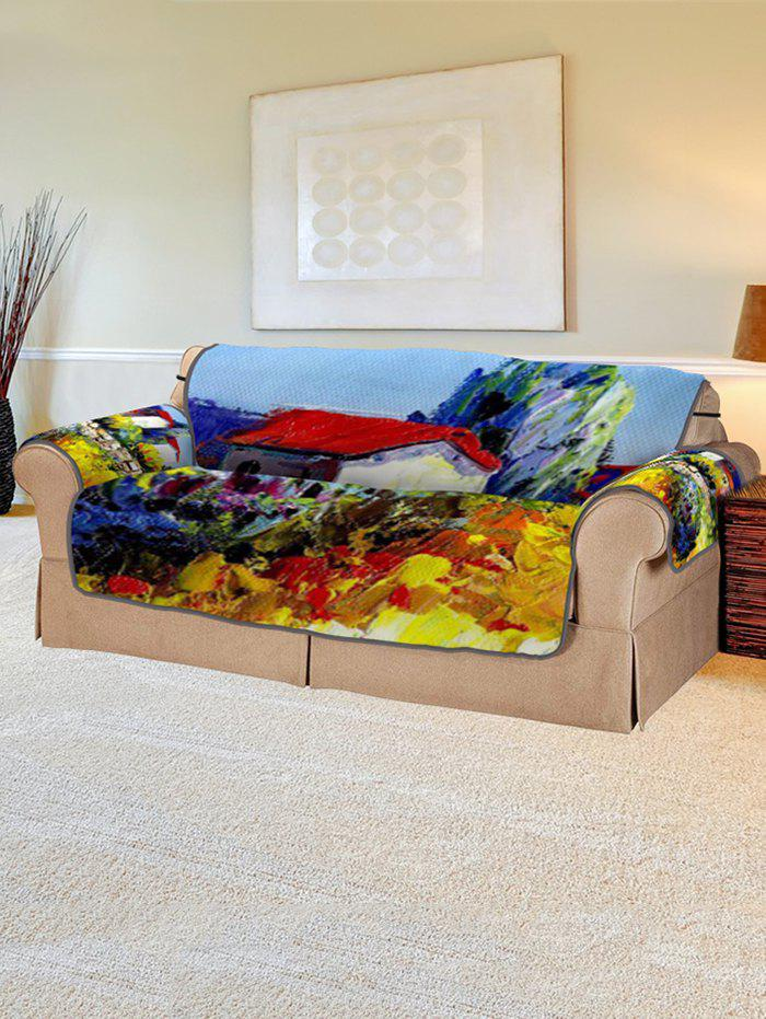 Discount Drawing Pattern Couch Cover