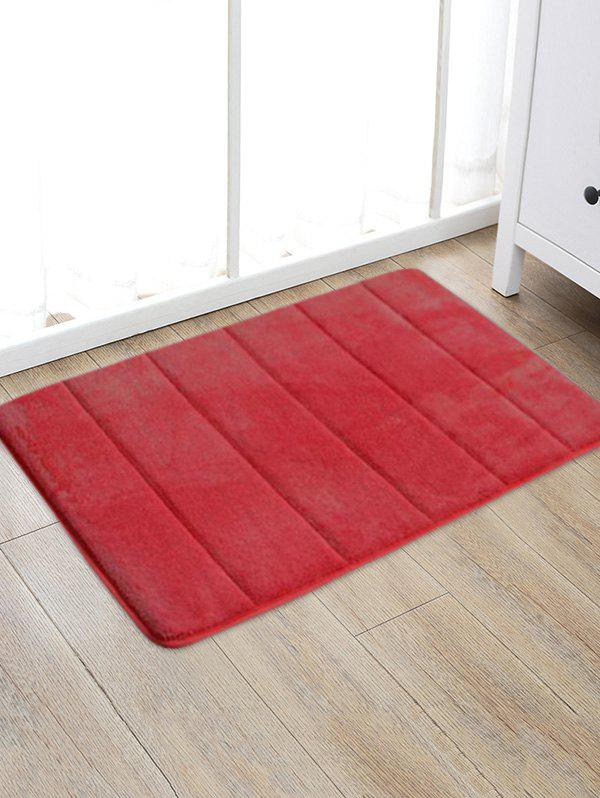 Trendy Solid Color Water Absorption Area Rug
