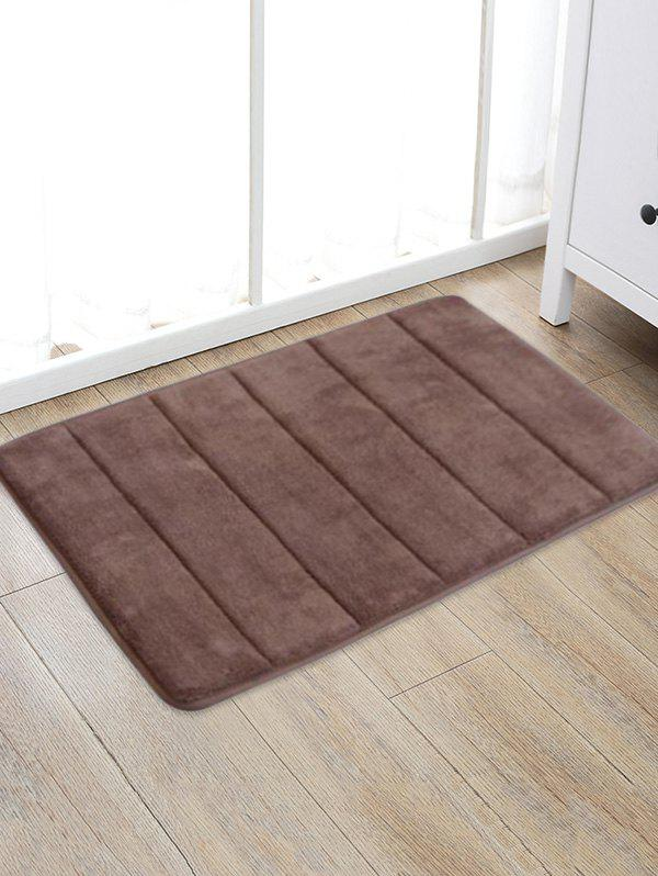 Store Solid Color Water Absorption Area Rug