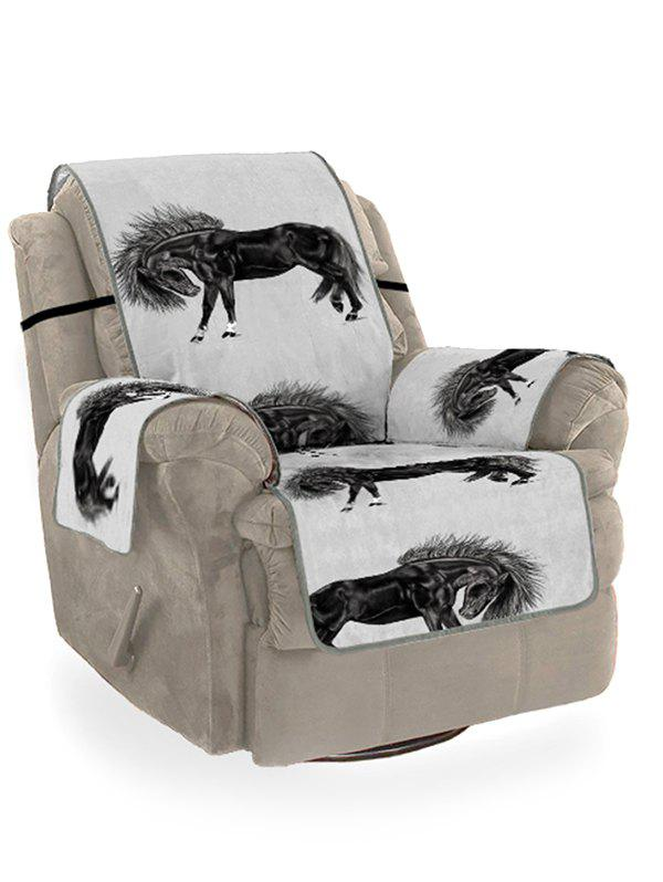 Fancy Horse Printed Couch Cover