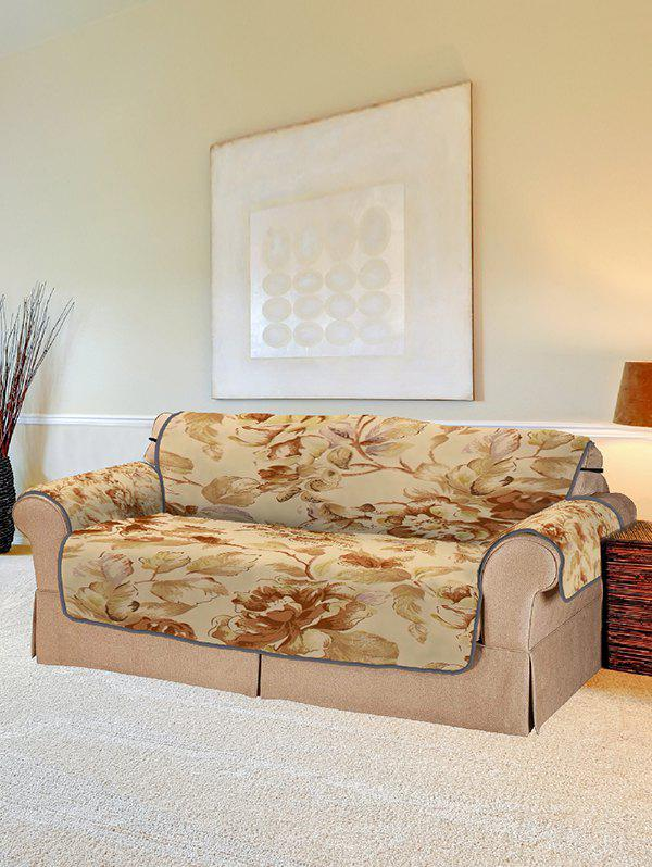 Shop Vintage Flower Print Couch Cover