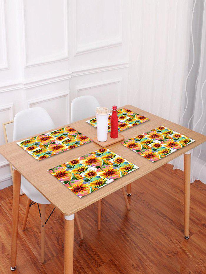 Shop Sunflowers Pattern Table Placemat