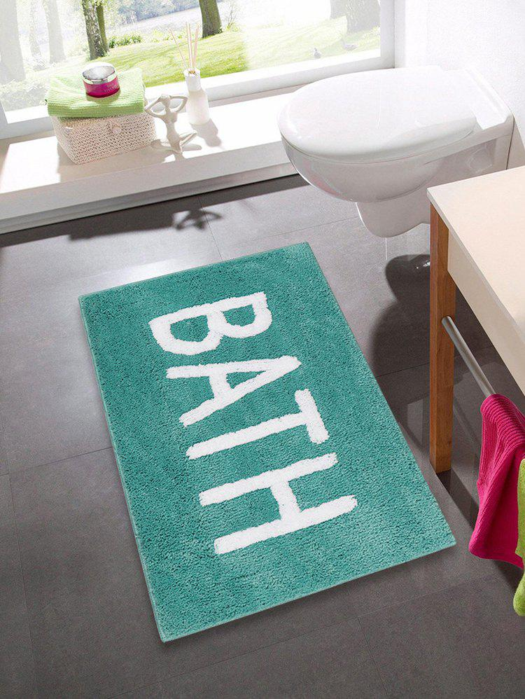 New Letters Pattern Water Absorption Area Rug
